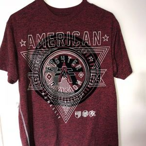 Men's American fighter tee